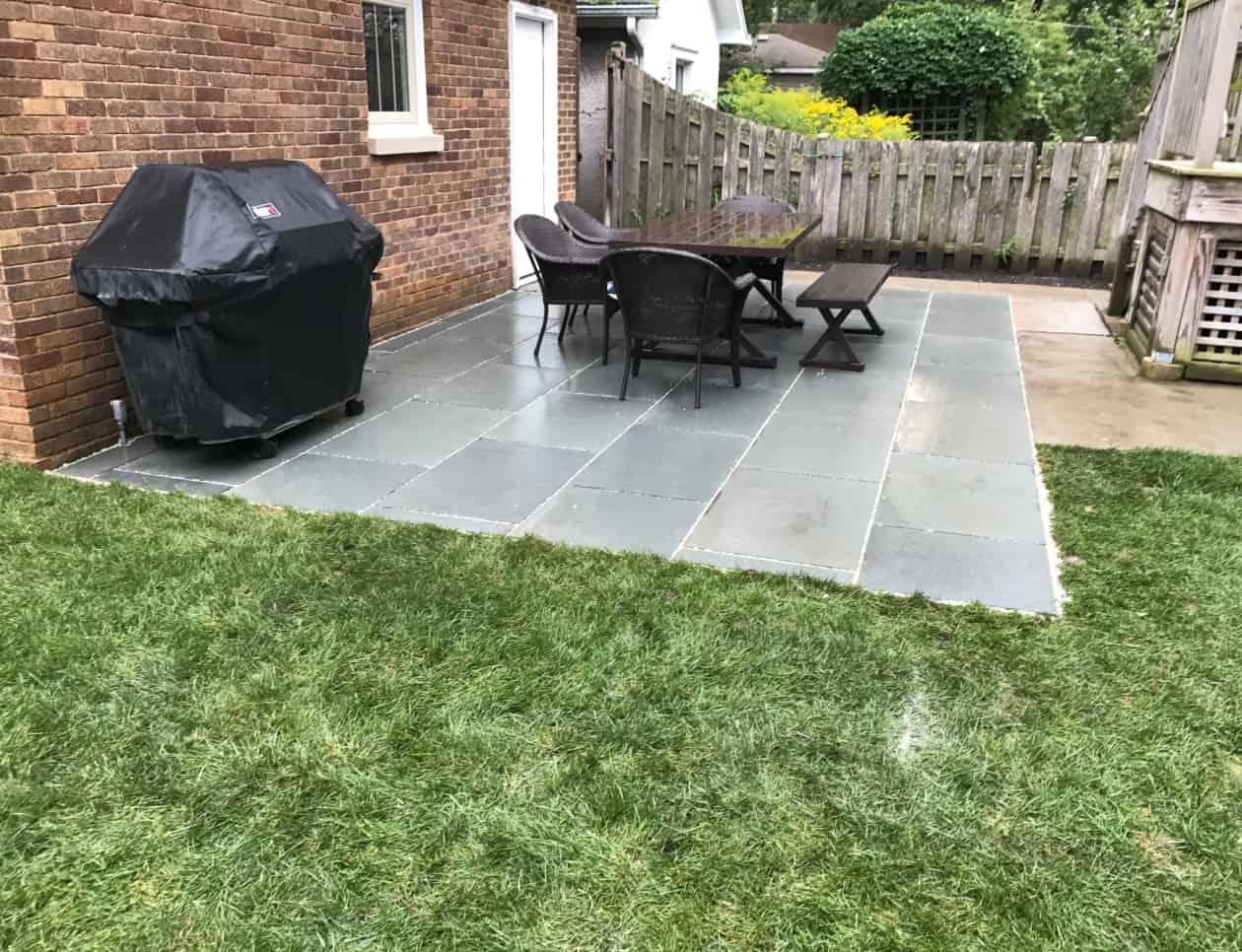 tile patio pattern