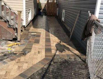 patterned pavers