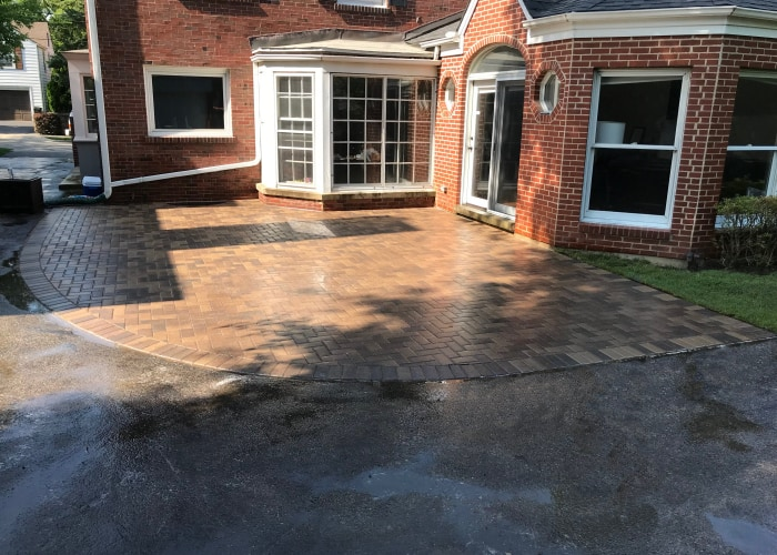 Patio Paving In The Chicago Area