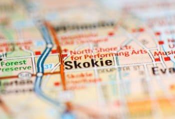 Skokie Map